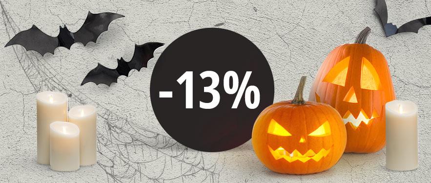 Félelmetes Halloween akció
