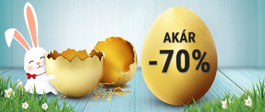 Húsvéti akciók akár -70%
