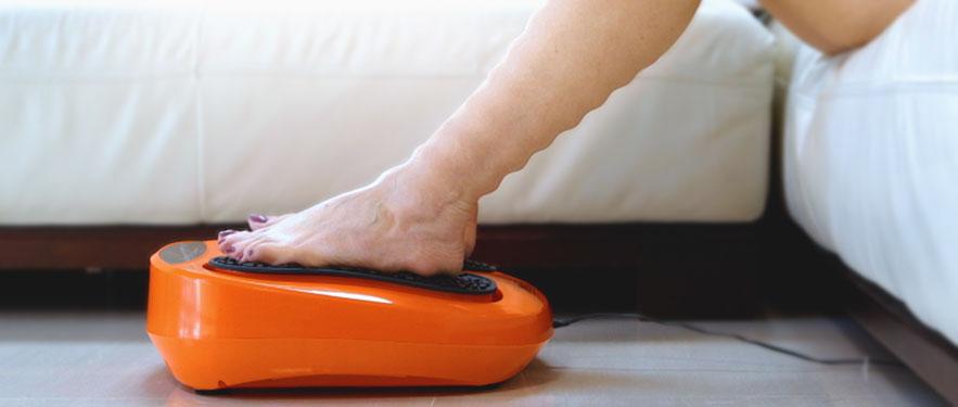 Energizer akupresszúrás lábmaszírozó