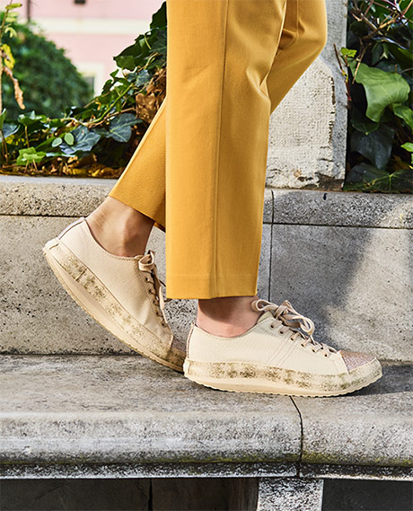 Walkmaxx Trend csillámos szabadidőcipő